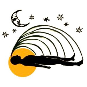 Slaapyoga. Slaap yoga. LOGO